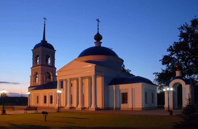 Церковь Успения в Тулиновке