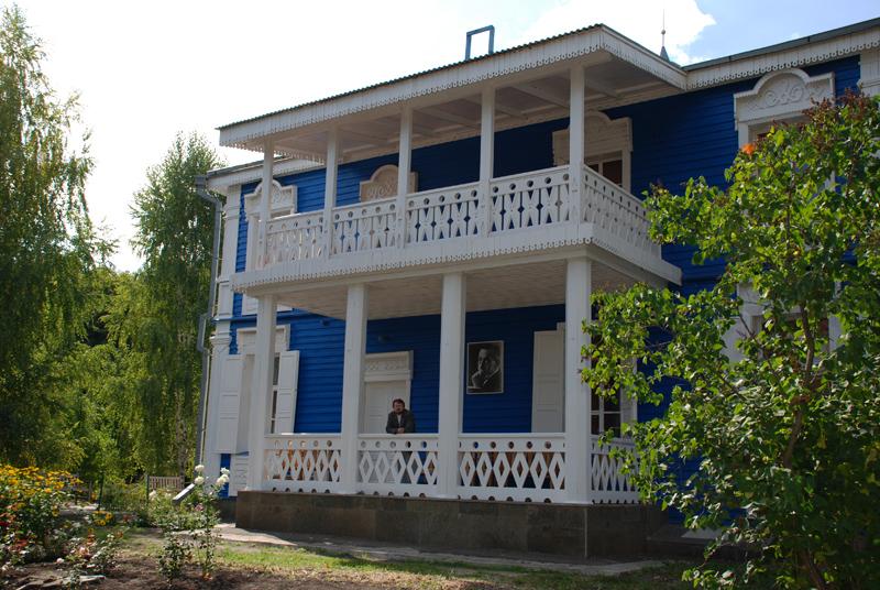 Музей-усадьба С.В.Рахманинова в Ивановке, Уваровский район