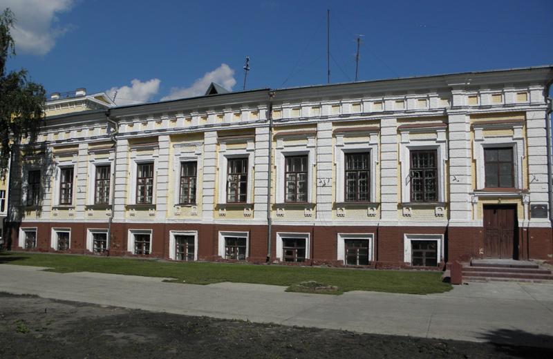 Музыкальная школа. Бывший дом Андреевских