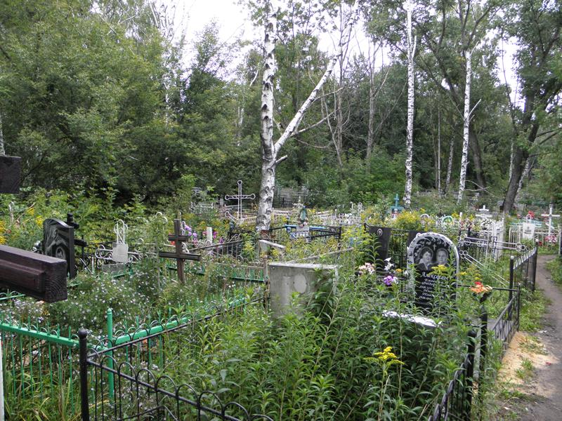 Петропавловское кладбище города Тамбова