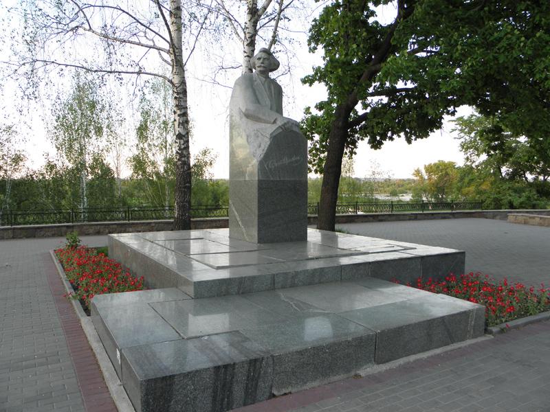 Памятник С.Н. Сергееву-Ценскому