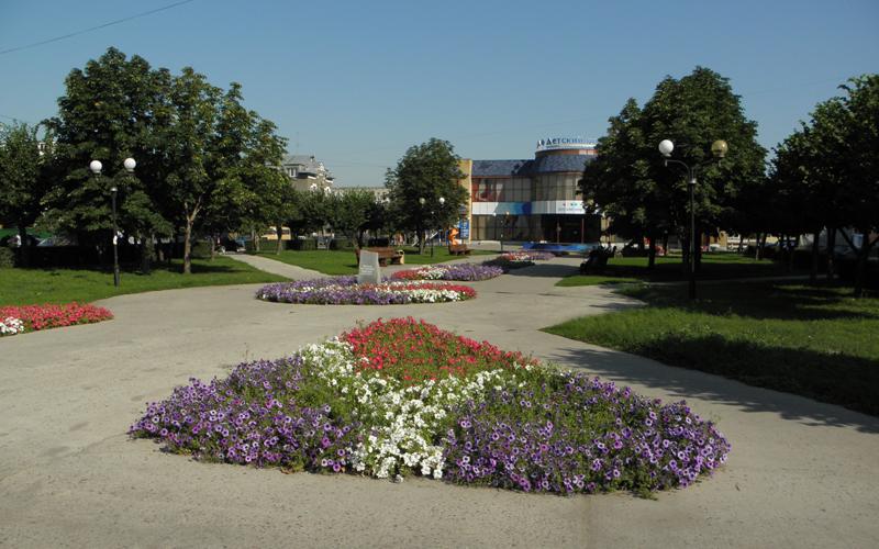 Сквер «Театральный» (Октябрьский)