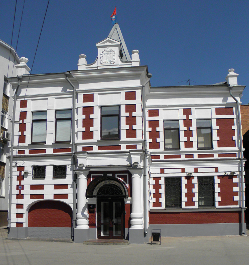Старое здание Тамбовской городской думы